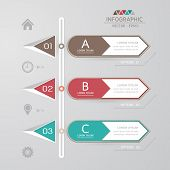 Design Template For Infographic / Banners Or Website