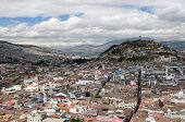 View On The Quito, Ecuador