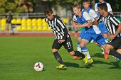 MOSCOW, RUSSIA - JULY 21, 2014: Match Dynamo, Moscow - PAOK, Greece during the Lev Yashin VTB Cup, t