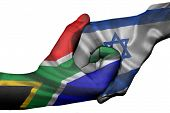 Handshake Between South Africa And Israel