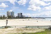 Coolangatta beach, Gold Coast Australia