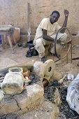 The Work Of Bronze In Burkina Faso