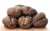 Black Bread Bun