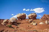 Rock Formation In Capitol Reef National Park, Usa