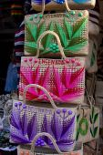 Brightly Colored Handmade Purses