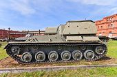 Soviet 76 Mm Self-propelled Gun Su-76M