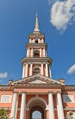 Belfry (1812) Of Cross Exaltation Cathedral In Saint Petersburg