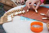 Handcraft Lace Made In Belgium Flanders Bruges