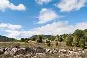 Mediterranean mountail landscape