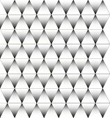 Black and white triangle pattern, background