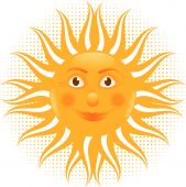 Sun Man Cartoon