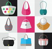 Beach style, casual, elegant, business bags for women.