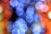 Colorful Bokeh Light