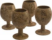 Stone wine-glasses