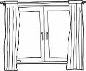 Outline Of Casement Windows