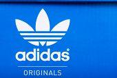 Adidas Sign On Adidas Shoe Box