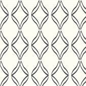 Vector Seamless Line And Curve Pattern Background