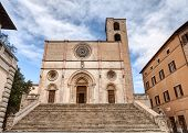 The Duomo Of Todi, Italy