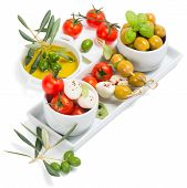 Tomatoes, Mozzarella And Olive Oil