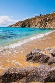 Kalo Livadi Beach In Mykonos