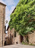 Old Alley In Umbria , Italy