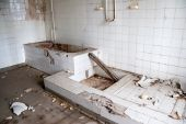 old leave bathroom
