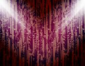 abstract colored background with spotlights