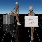 cabaret girls template