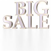 Three-dimensional Inscription Big Sale