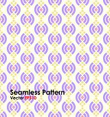 picture of corbel  - Violet Modern lotus shape seamless pattern on pastel background - JPG