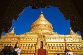 Shwezigon Pagoda in Nyaung-U.