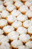 Cupcakes with cream cheese frosting