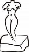 venus nude sculpture