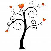 Simple Love Tree