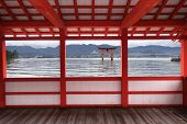 Great Floating Gate Of Itsukushima Shrine