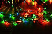Multi-colored Sparks