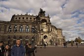 Semper Opera House In Dresden