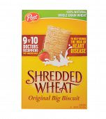 Los Angeles,California Dec 10th 2014: A nice Box Of Post Shredded Wheat