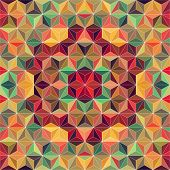 Vector Colorful Triangle Background