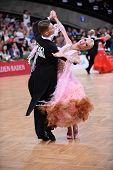 ballroom dancers, dance couple at competition