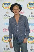 LOS ANGELES - AUG 10:  Cody Simpson arrives to the Teen Choice Awards 2014  on August 10, 2014 in Los Angeles, CA.
