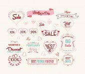set of valentine sale for design