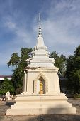 the old pagoda at Wat Ban Ma
