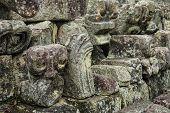 Carved stones, Mayan ruins, Quirigua, Guatemala