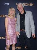 LOS ANGELES - DEC 15:  Roger Deakins & Isabella Ellis arrives to the