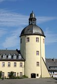 Old Tower In Town Siegen, Germany