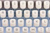 Old Typewriting Machine Keys