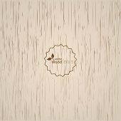 Light wood background.