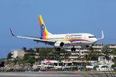 Air Jamaica Boeing 737-800 St. Martin