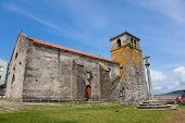 stock photo of lax  - Church in Laxe - JPG